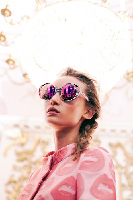 Miu Miu Printed Sunglasses