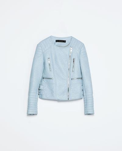 Pastel Bomber Trend Zara