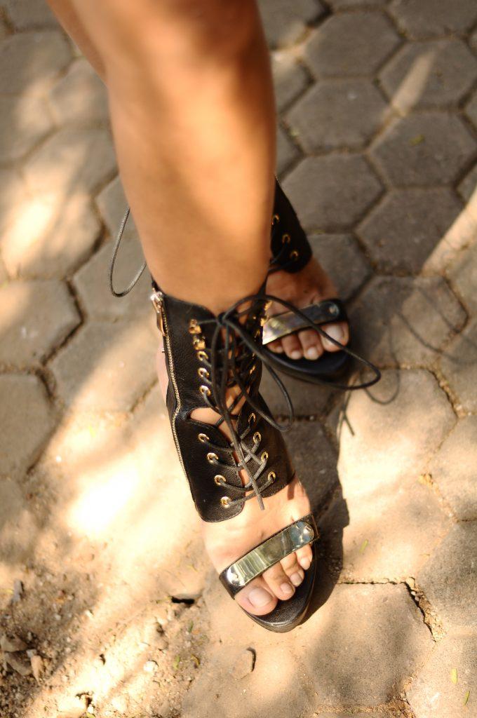 Heeled Sandals: Bebe