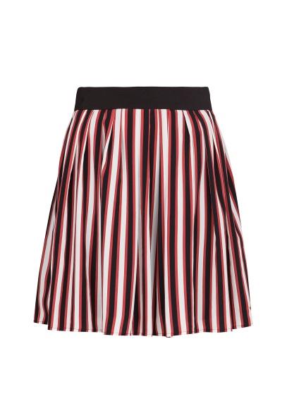 Striped Skater Skirt: Mango