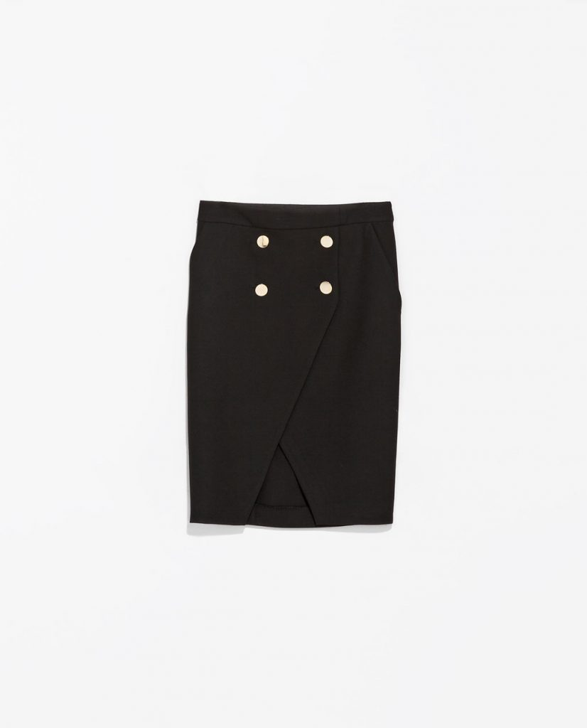 Two Layer Button Up skirt: Zara Too cute to ignore