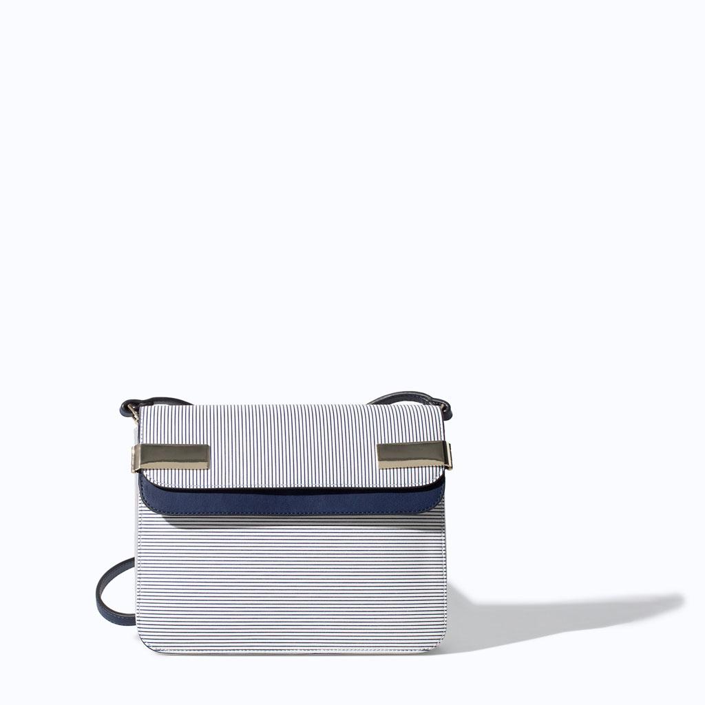 Striped Messenger Bag! Trend Alert: Stripes!