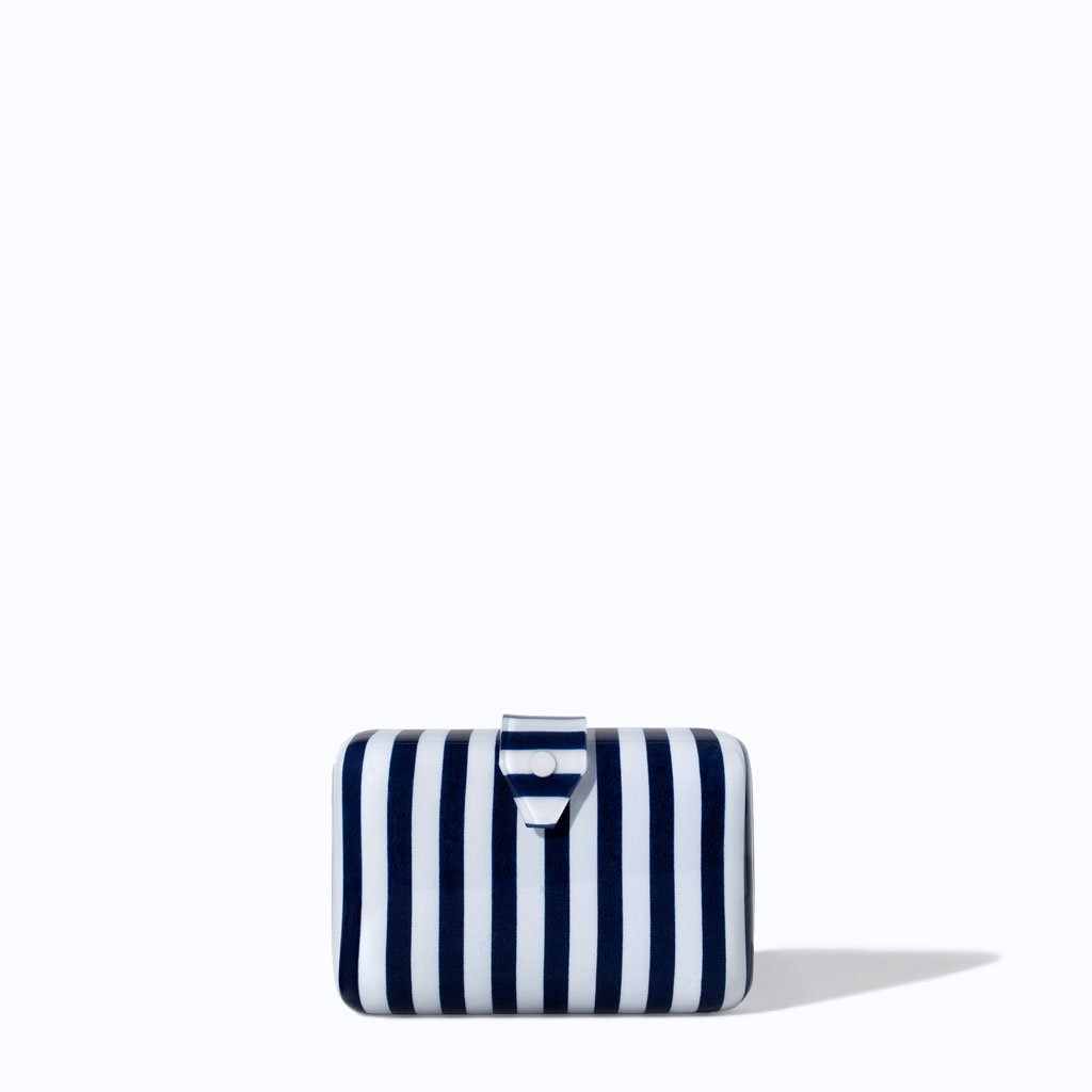 Striped Minaudiere: Zara So Cute!