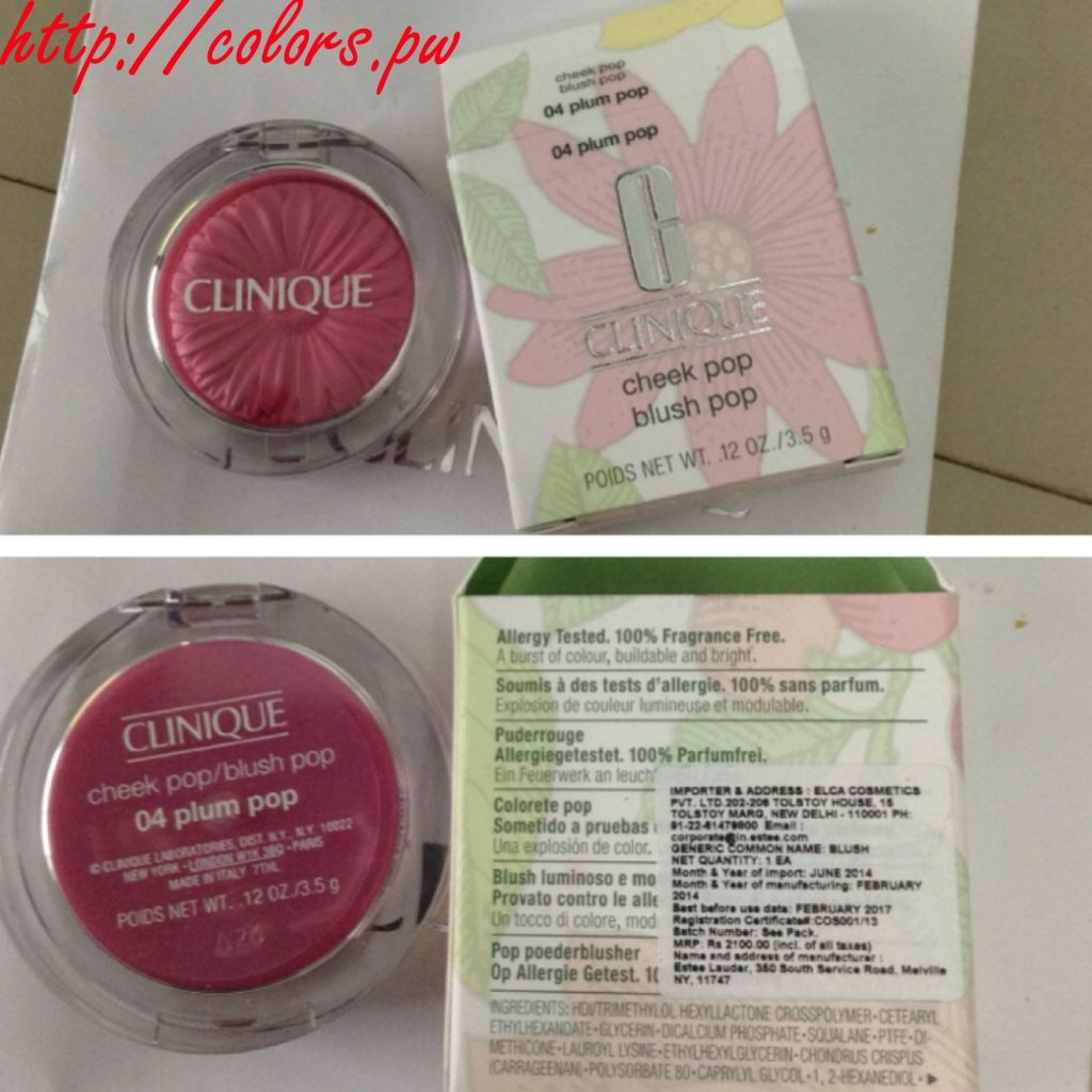 Cheek Pop Blush: Plum Pop (04)