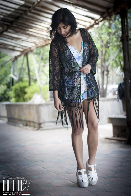 Fringed Kimono- Shein